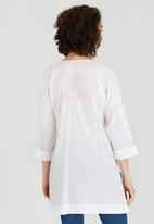 G Couture - Embroidered Tunic White