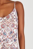JEEP - Strappy Paisley Dress Multi-colour