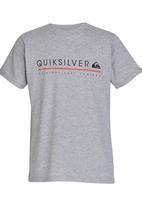 Quiksilver - Formula Uno Boys Tee Grey