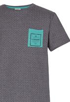 Lizzard - Printed Tee Grey
