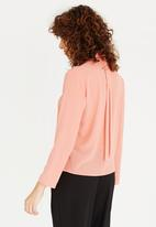 Somerset Jane - Adora Wrap Shirt Coral
