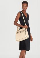 Moda Scapa - Structured Tote Bag Beige