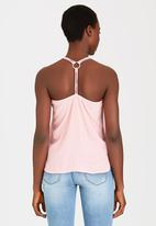 SISSY BOY - Maceo Cami with Ring Pale Pink