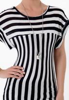 LABEL FEMME - Striped T-shirt