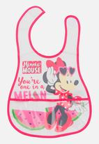 Character Baby - Minnie Mouse Catcher Bib Multi-colour