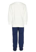 POP CANDY - Cloudy Track Top and Pant White
