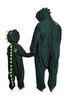 aFREAKa Clothing - Dinosaur Onesie Green