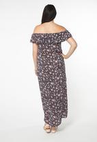 EVANS - Gypsy Maxi Dress Multi-colour