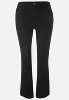 EVANS - Bootleg Jeans Black