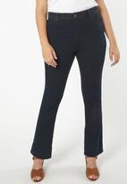 EVANS - Straight Leg Jeans Dark Blue