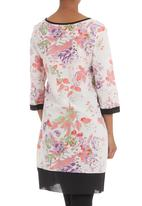 Ilan - Oriental tunic Pale pink