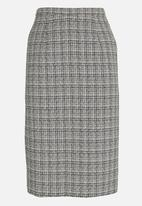 edit - Pencil Skirt Grey