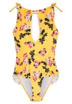 Vero Moda - Carol One Piece Swimsuit Floral