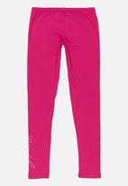 GUESS - Girls Basic Leggings Dark Pink
