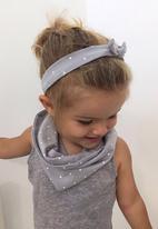 Pickalilly - Knotted Headband Grey