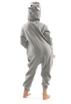 aFREAKa Clothing - Hippo Onesie Grey