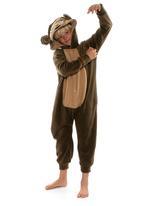 aFREAKa Clothing - Monkey Onesie Dark Brown