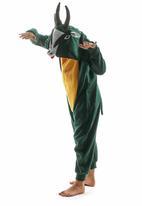aFREAKa Clothing - Springbok Onesie Mid Green