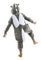 aFREAKa Clothing - Unicorn Onesie Grey