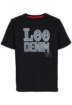 Lee  - Lee Denim Tee Black