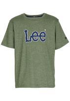 Lee  - Applique   Tee Green