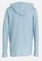 Lizzard - Hagen pullover hoodie - pale blue