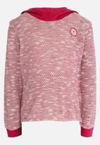 Lizzy - Loire Pullover Hoodie Dark Pink