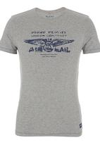 Blend - Graphic Tee. Grey