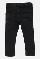 MINOTI - Skinny Leg Twill Pant Black