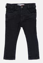 MINOTI - Skinny Leg Twill Pant Charcoal