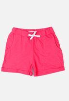 MINOTI - Basic Slub Jersey Short Dark Pink