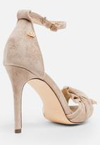 5593afad1f0 Amarah bow detail heels - nude Miss Black Heels