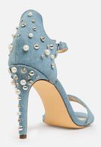 Miss Black - Photini heel - mid blue