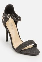 Miss Black - Photini heel - black