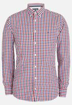 Tommy Hilfiger - Multi Coloured Gingham Shirt Red