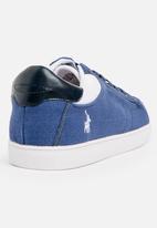POLO - Classic Canvas Sneaker Navy