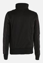 POP CANDY - Gangster printed jacket - black