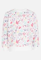 POP CANDY - Printed Long Sleeve Sweat Top Multi-colour