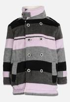 POP CANDY - Girls Stripe Jacket Multi-colour