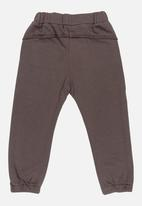 POP CANDY - Plain Joggers Brown