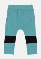 POP CANDY - Fox print legging - green & black