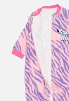 POP CANDY - Printed giraffe bodysuit - pink & purple