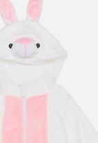 POP CANDY - Bunny  Onesie White