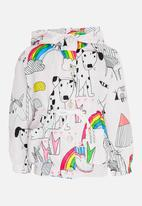 POP CANDY - Girls Printed Hoodie Multi-colour