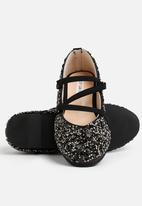 POP CANDY - Ballerina Sequin pump - black