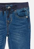 POP CANDY - Elasticated skinny jeans - blue