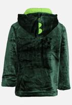 POP CANDY - Printed Hooded Jacket Green