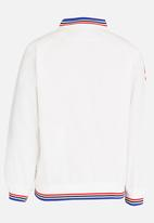 POP CANDY - Printed Long Sleeve Jacket White