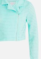 POP CANDY - Zip through jacket - green