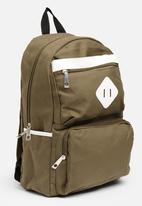 POP CANDY - Backpack with multiple compartments - khaki
